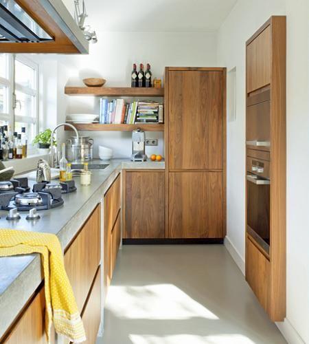 Decotips una cocina larga y estrecha no es problema virlova style cocinas pinterest - Virlova style ...