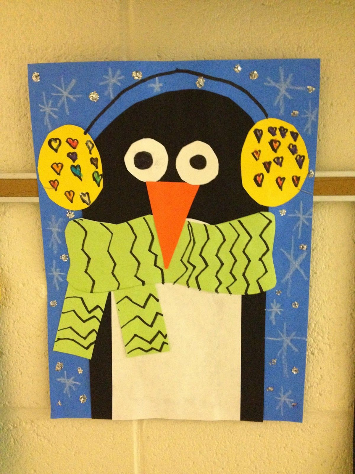 1st Grade Penguins (WHAT'S HAPPENING IN THE ART ROOM ...