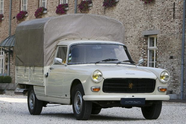 11k miles all original 1977 peugeot 404 pick up. Black Bedroom Furniture Sets. Home Design Ideas