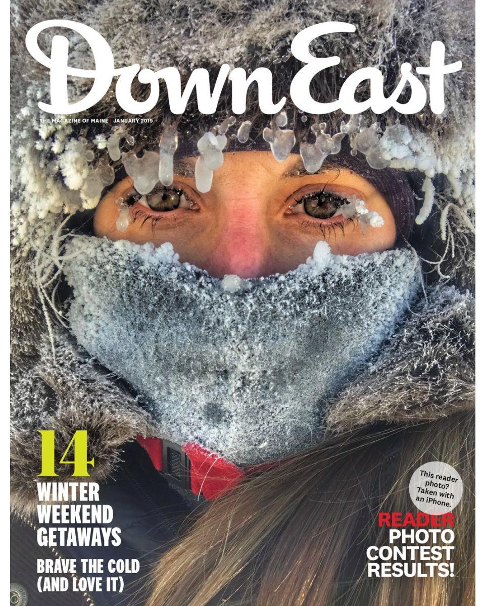 Down East Magazine, January 2019 | Down East Magazine Covers