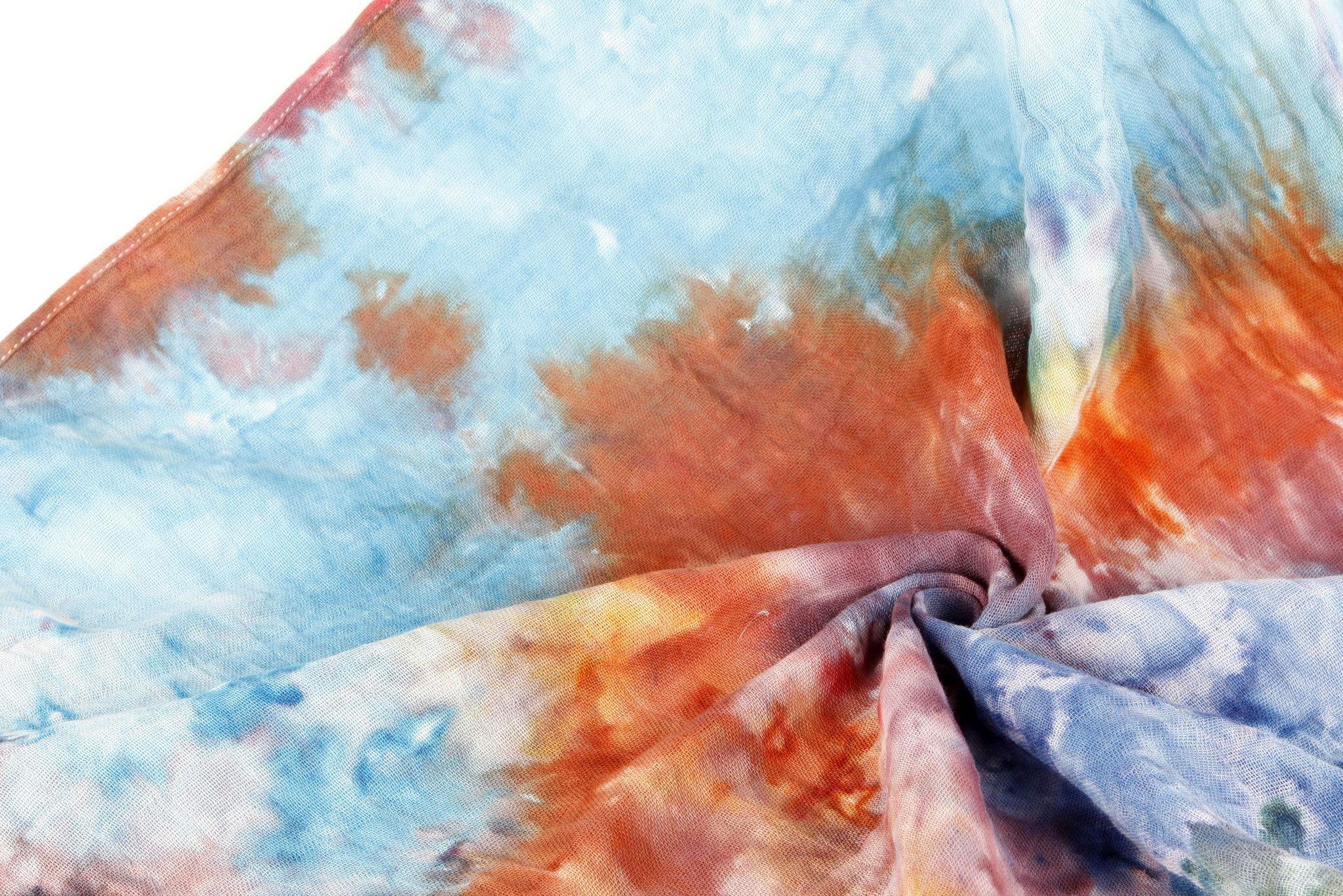 Stoff Mit Eiswurfeln Farben Batik Mit Eiswurfeln Stoff Stoff Farben Eiswurfel