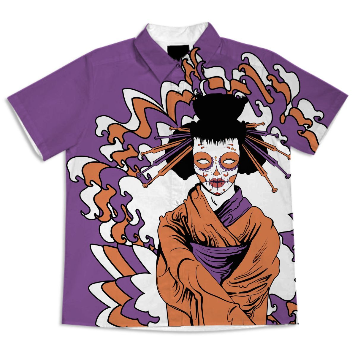 oriental style geisha zombie OP from Print All Over Me