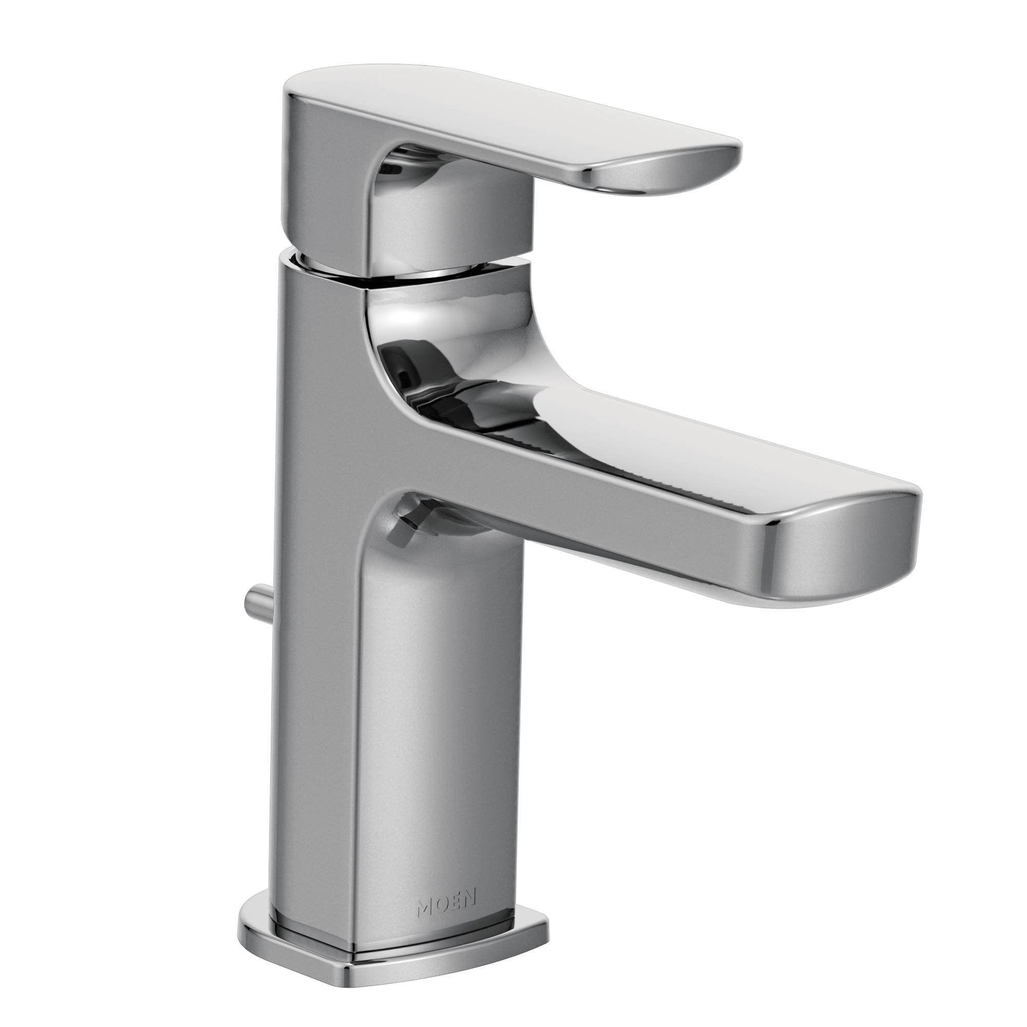 handle high faucet chrome bathroom sink american standard inch studio arc faucets widespread