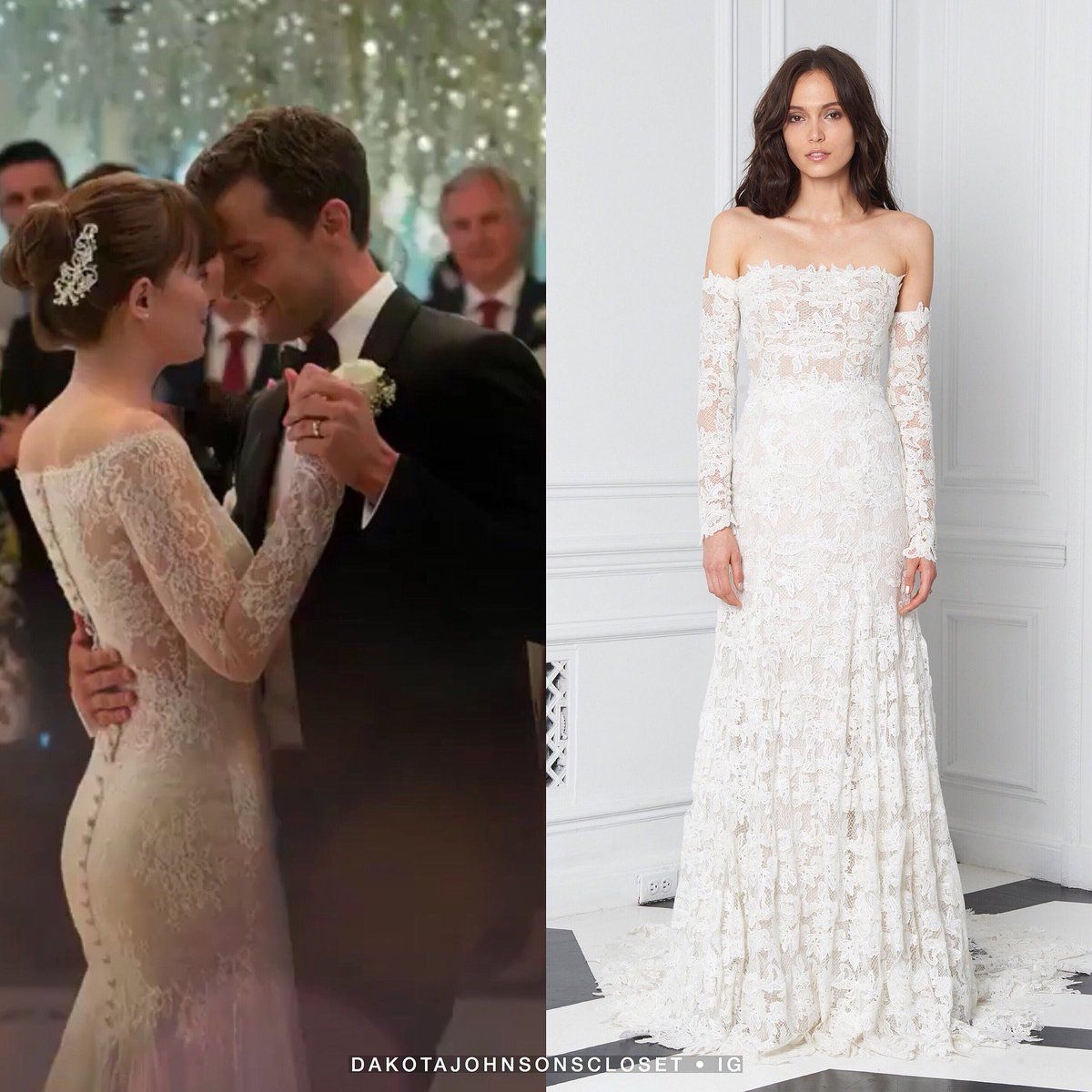 Thequeendakota Thequeen Dakota Twitter Grey Wedding Dress Chic Bridal Dress Christian Wedding Gowns [ 1200 x 1200 Pixel ]