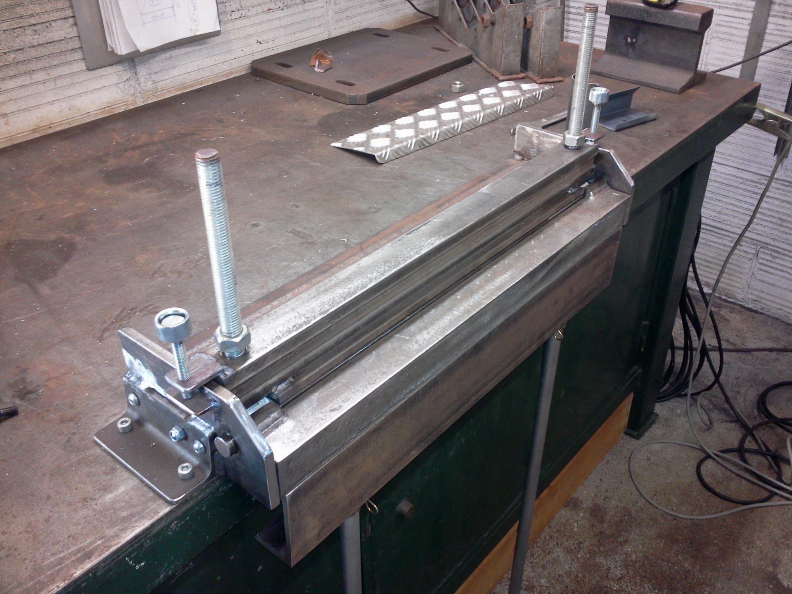 Www Homemadetools Net Forum Attachments Sheet M C3 A9tal Bender Photo1087 Jpg 12687d1469723239 Metal Bender Sheet Metal Bender Metal Fabrication Tools