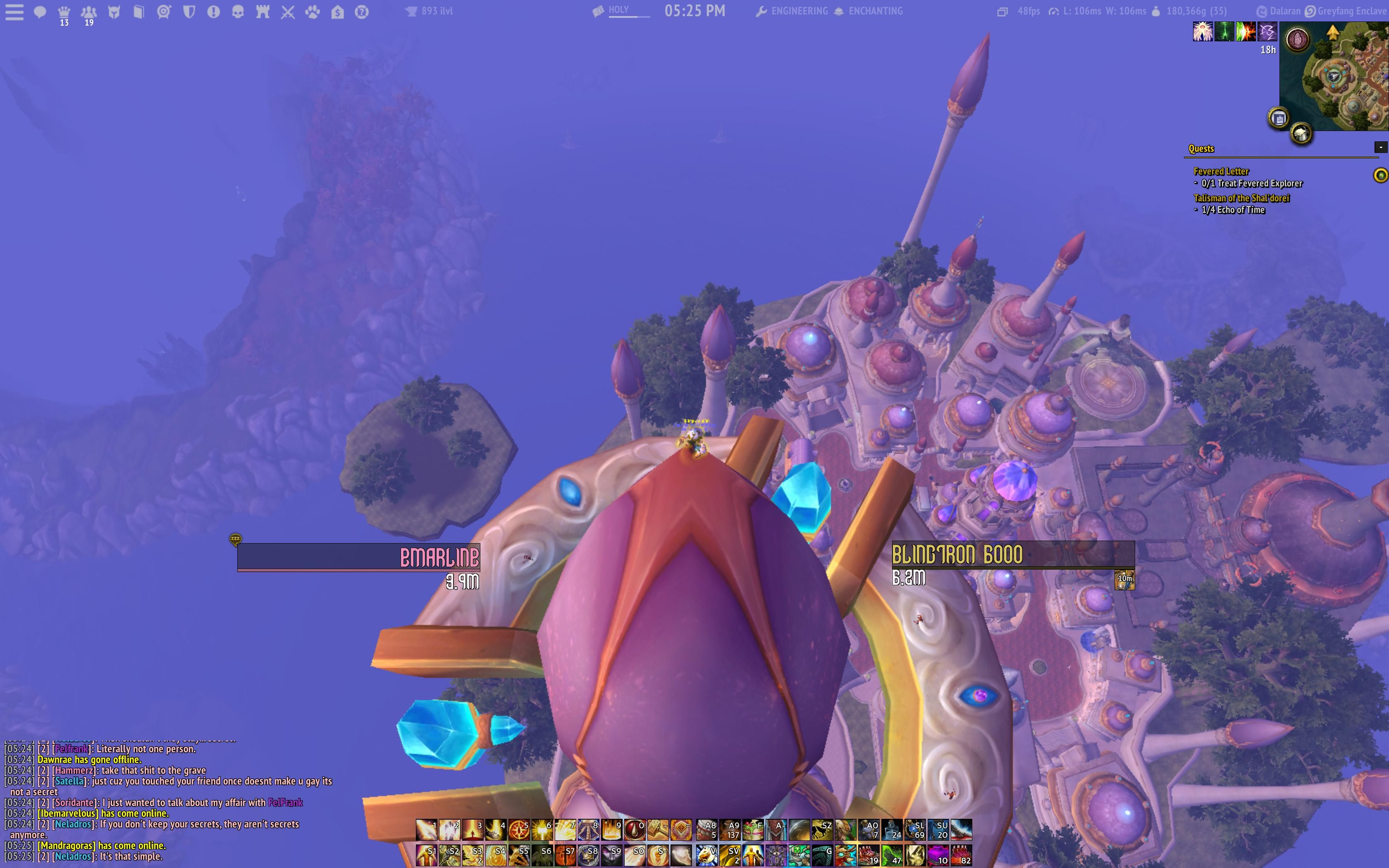 Fun with flying #worldofwarcraft #blizzard #Hearthstone #wow #Warcraft #BlizzardCS #gaming
