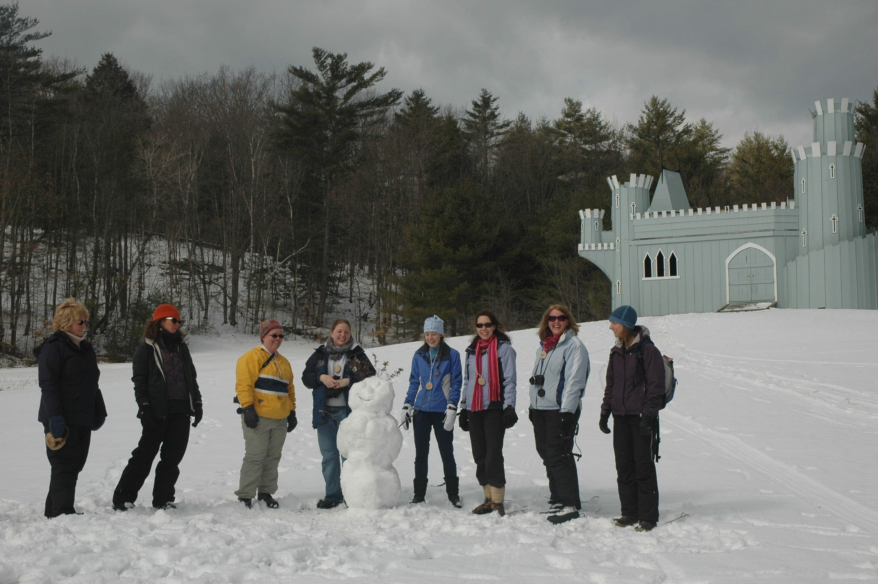 Women's Winter Doe Camp at Hulbert Outdoor center ...