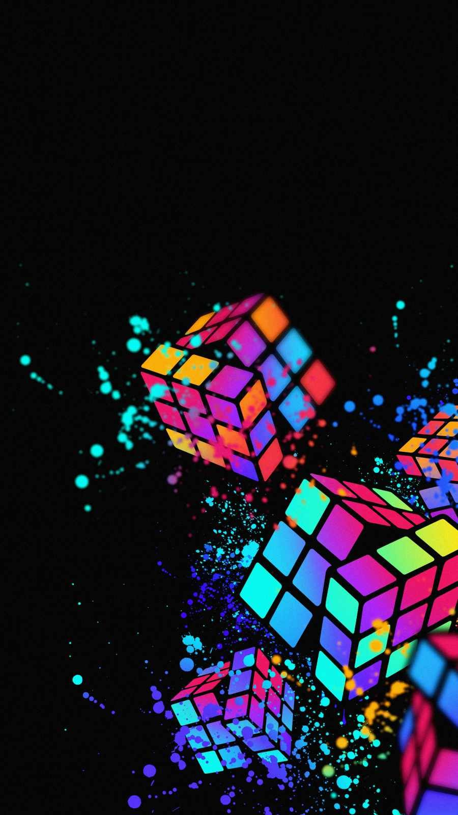 Amoled Puzzle iPhone Wallpaper - iPhone Wallpapers
