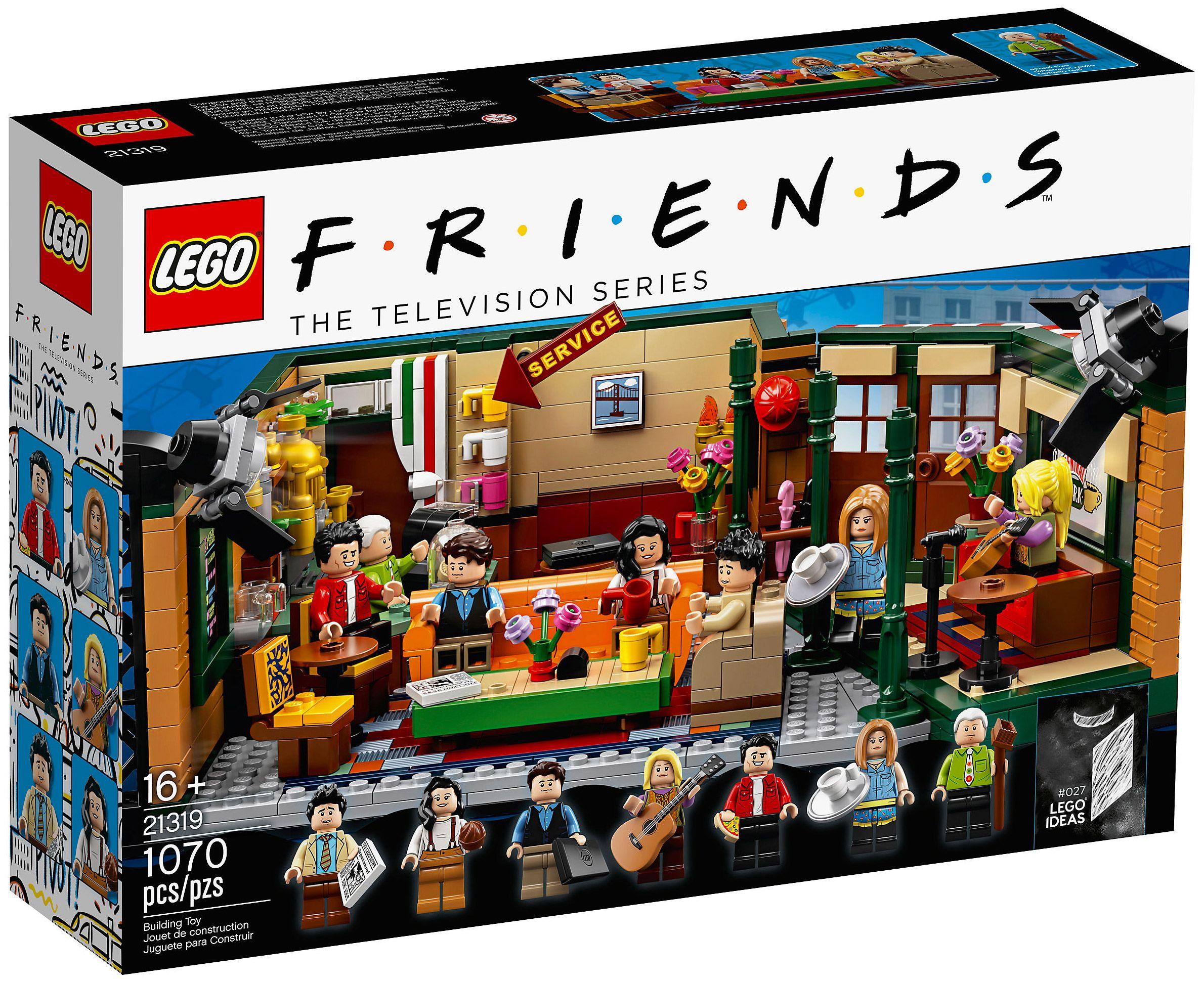 LEGO Ideas 21319 Central Perk (Friends) (avec images ...