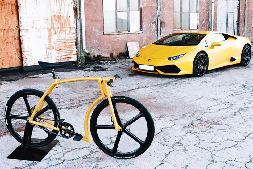 Supercar Lines Define The New Lamborghini Inspired Viks Bicycle