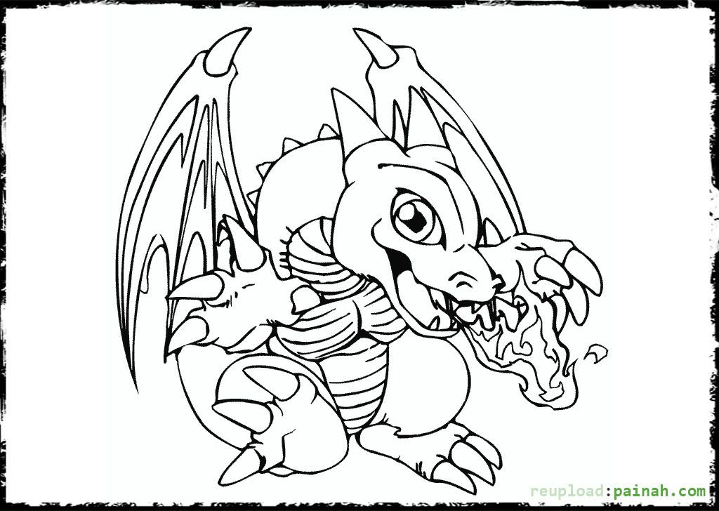 Dragon Coloring Pages Printable Myth Coloring Pages