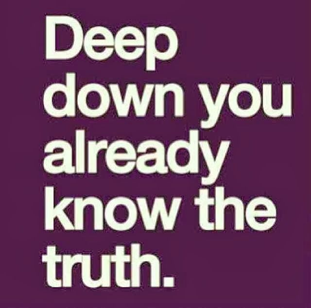 Deep down you already know the truth | Anonymous ART of Revolution