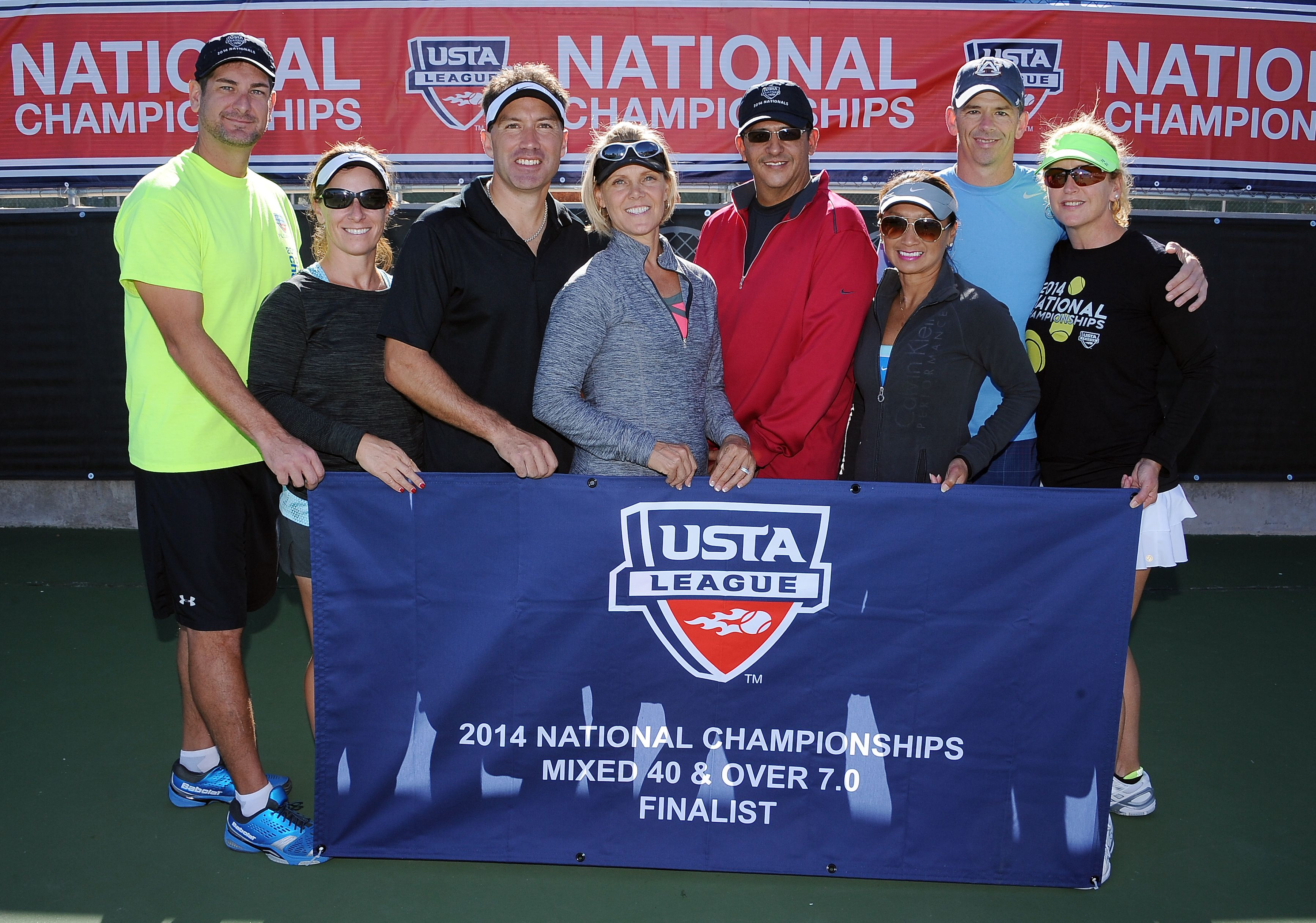 2014 USTA Florida Mixed 40 & Over 7.0 Finalists at the USTA National League Championships