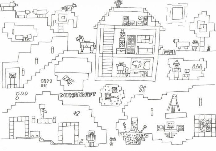 minecraftparty zum kindergeburtstag mit deko spielen