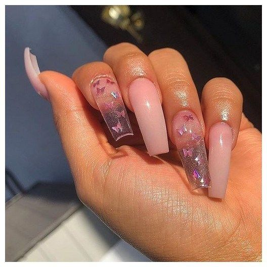 25 Most Impressive Ombre Black Long Acrylic Coffin Nails Create Your Best Impression Today 00028 With Images Coffin Nails Designs Cute Acrylic Nails Best Acrylic Nails