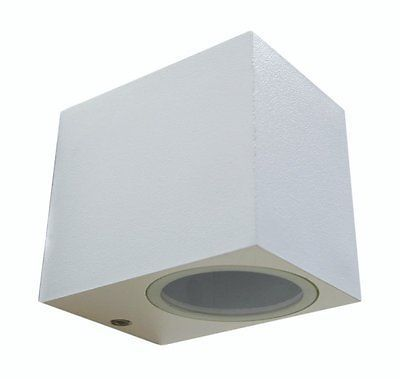 Modern Stainless Steel Mini Cube Single Up or Down Outdoor Wall - unterschrank beleuchtung küche