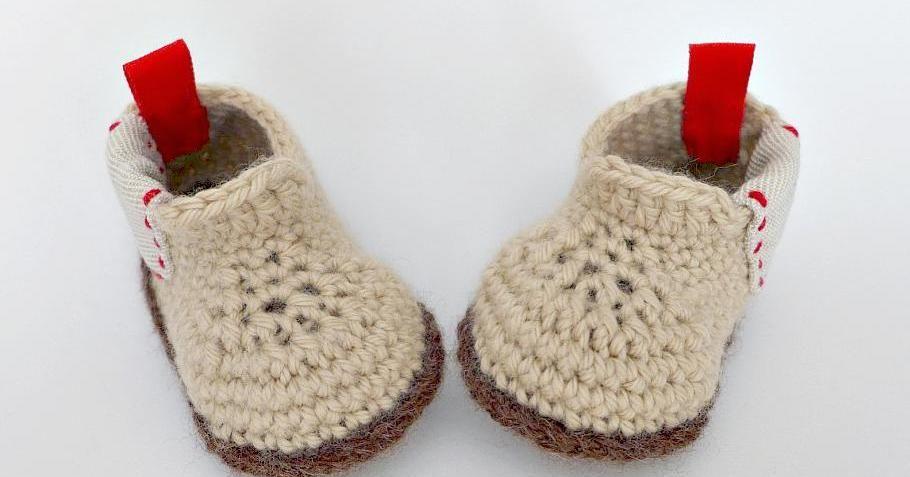 Botas para bebé tejidas a crochet | Manualidades | RED facilisimo ...