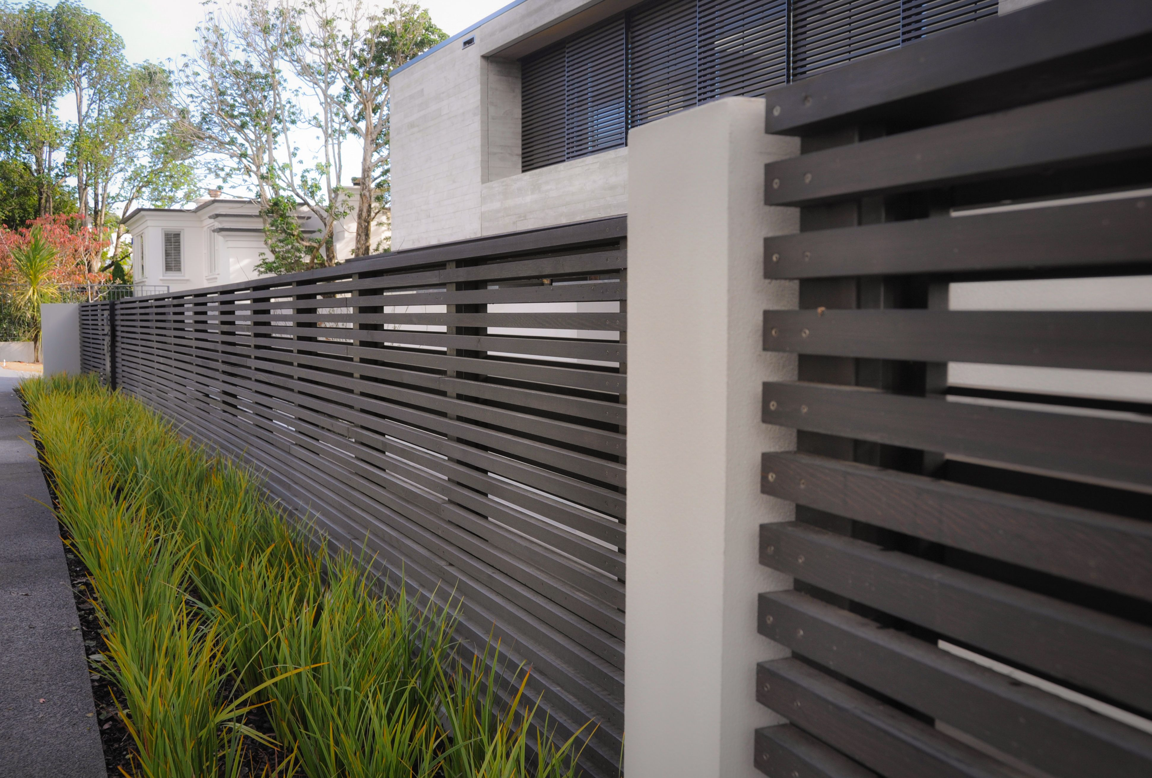 Dtail08 Fence Gate Custom Safety Contemporary Commercial Auckland Jpg 3882 2623 Modern Fence Design Fence Design Modern Fence