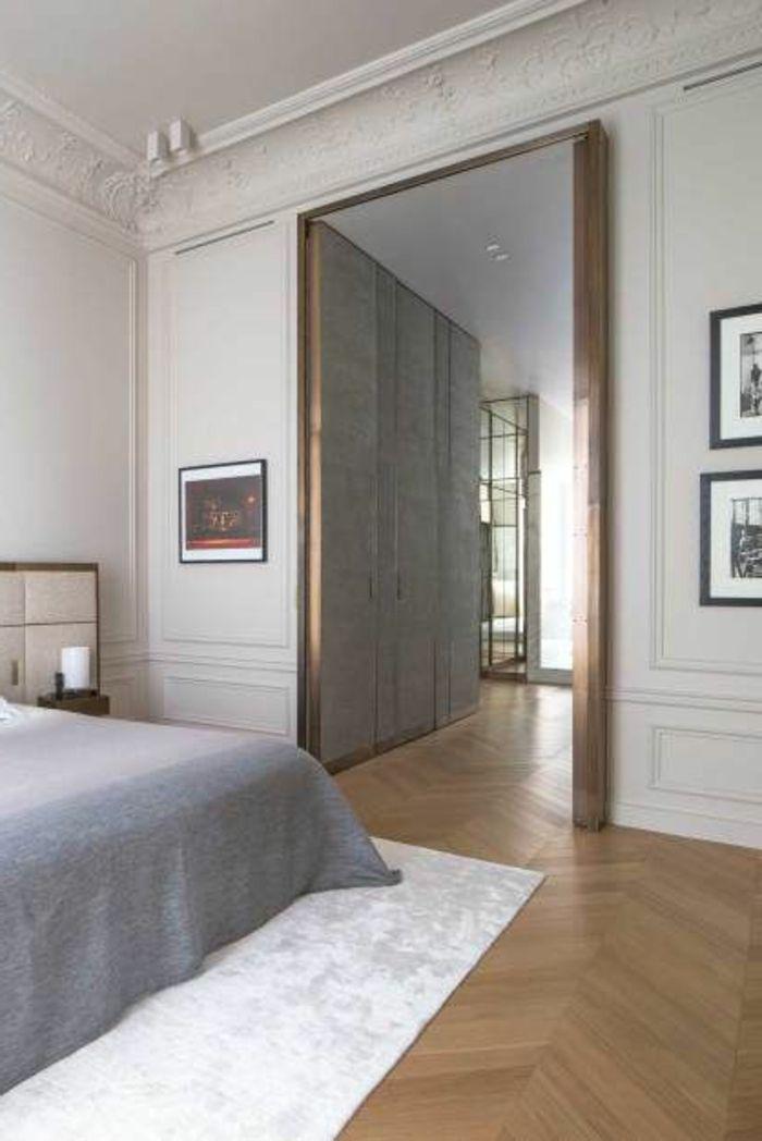 la moulure d corative dans 42 photos avec des id es deco. Black Bedroom Furniture Sets. Home Design Ideas