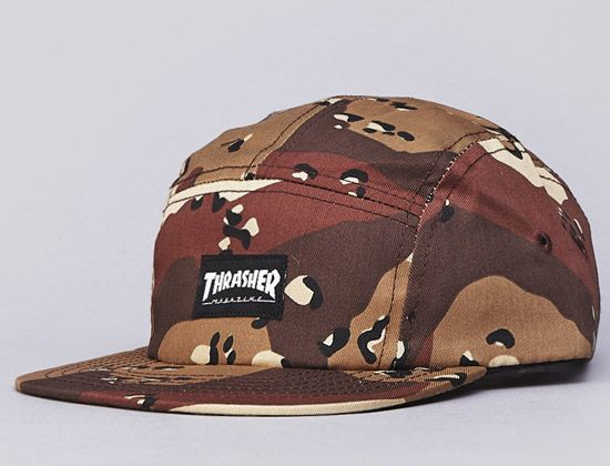 Camo Desert 5-Panel Hat by THRASHER  6928f992823