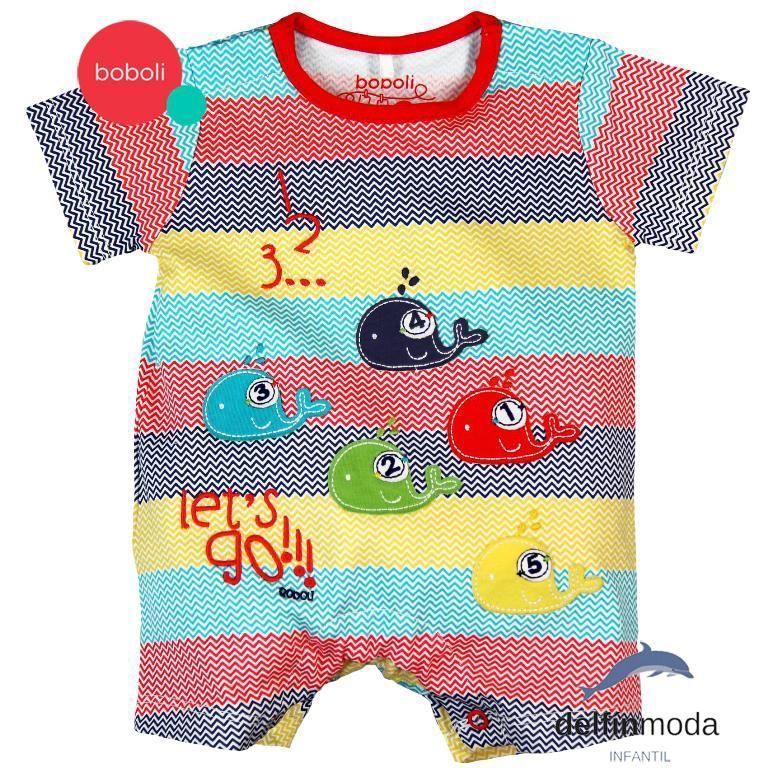 Mono para Beb/és boboli Knit Play Suit For Baby