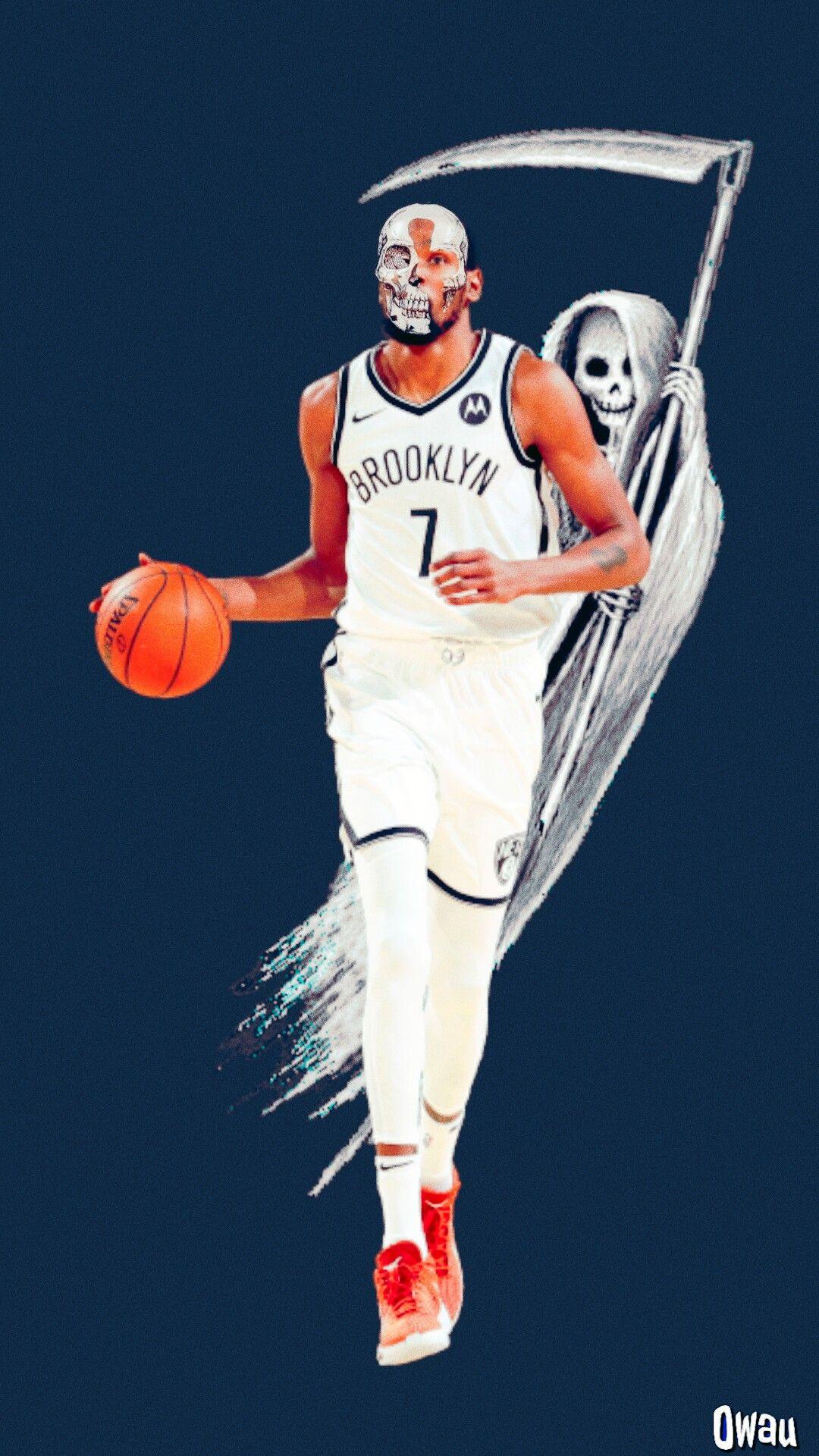 Kevin Durant Slim Reaper In 2021 Nba Basketball Art Basketball Players Nba Nba Artwork