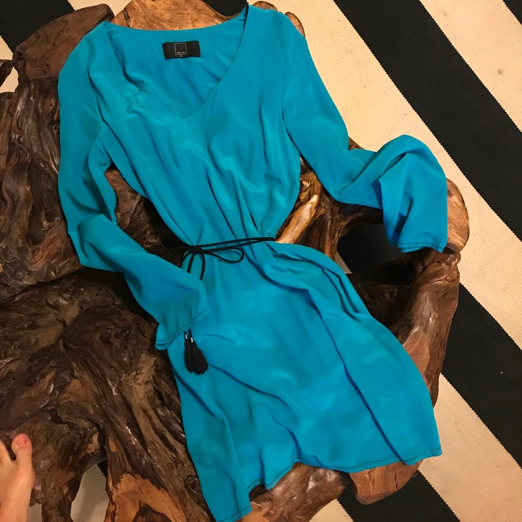 Teal silk dress silk dress and products
