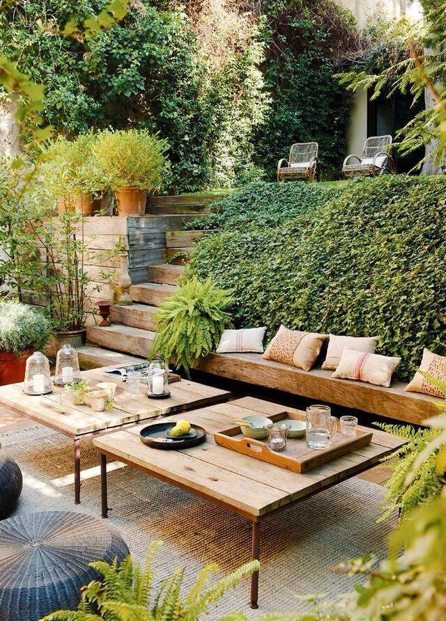 Pin de Heidi Lajoie en For the garden Pinterest Terrazas - jardines en terrazas