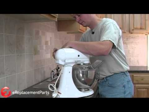 How To Replace The Brushes On A Kitchenaid Stand Mixer Kitchen Aid Kitchenaid Stand Mixer Kitchen Aid Repair