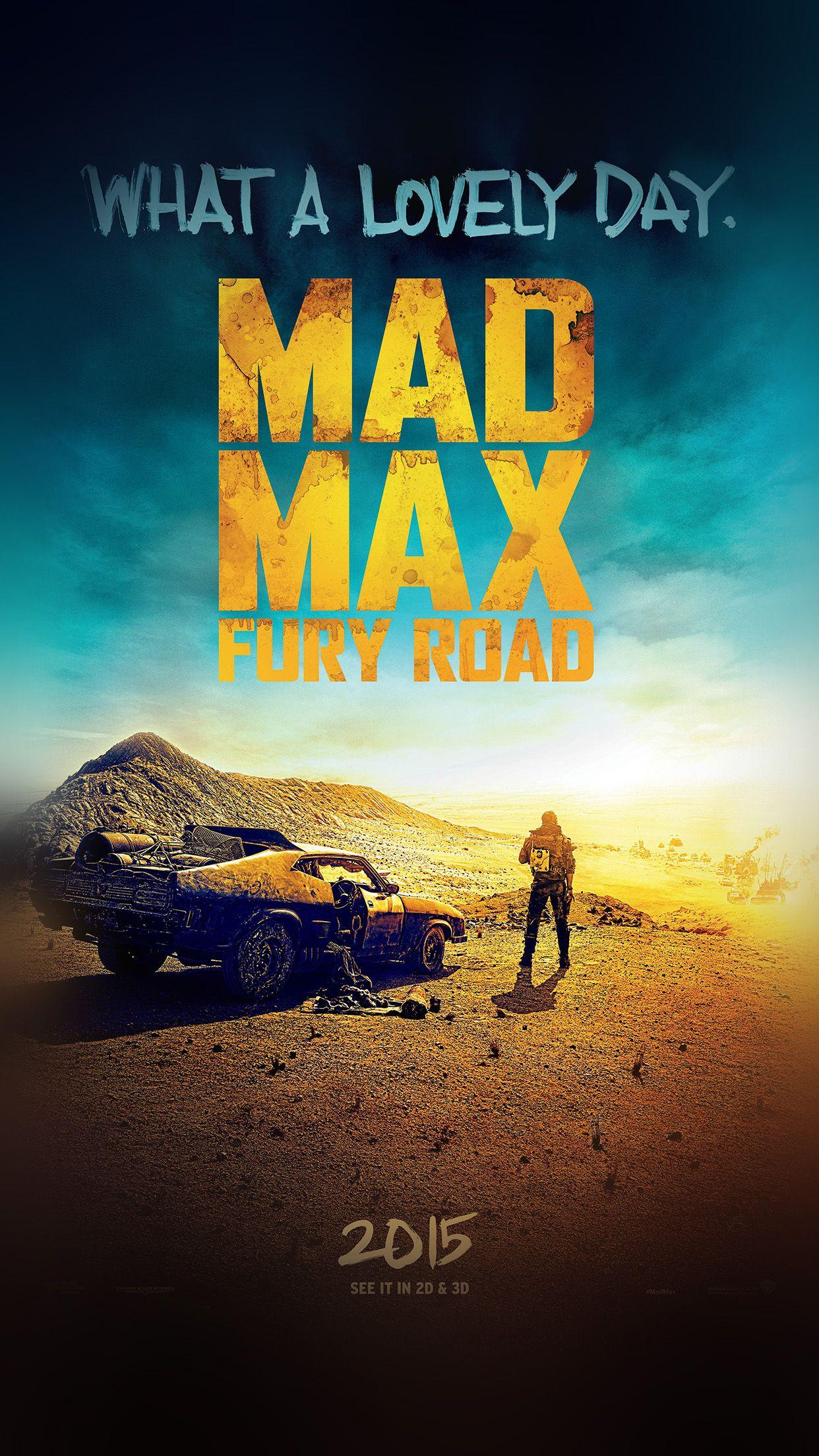 Poster design hd - Poster Movie Mad Max Fury Road Cinema
