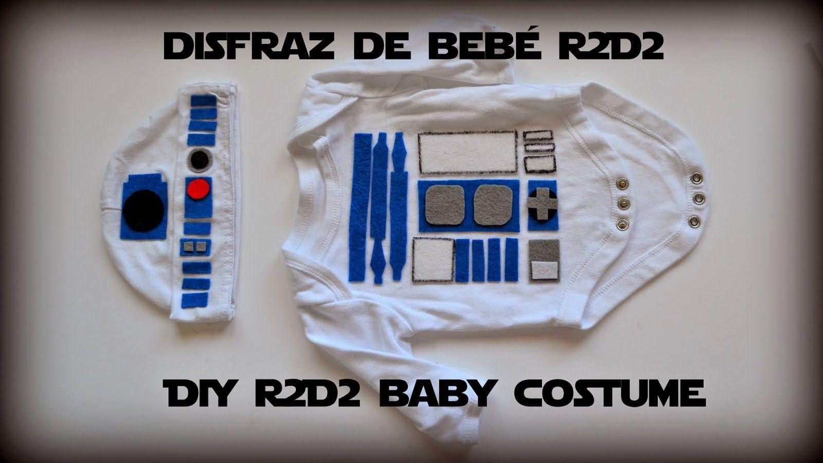Haz un disfraz rápido de R2D2 para bebé - Disfraz bebe, Disfraces rapidos