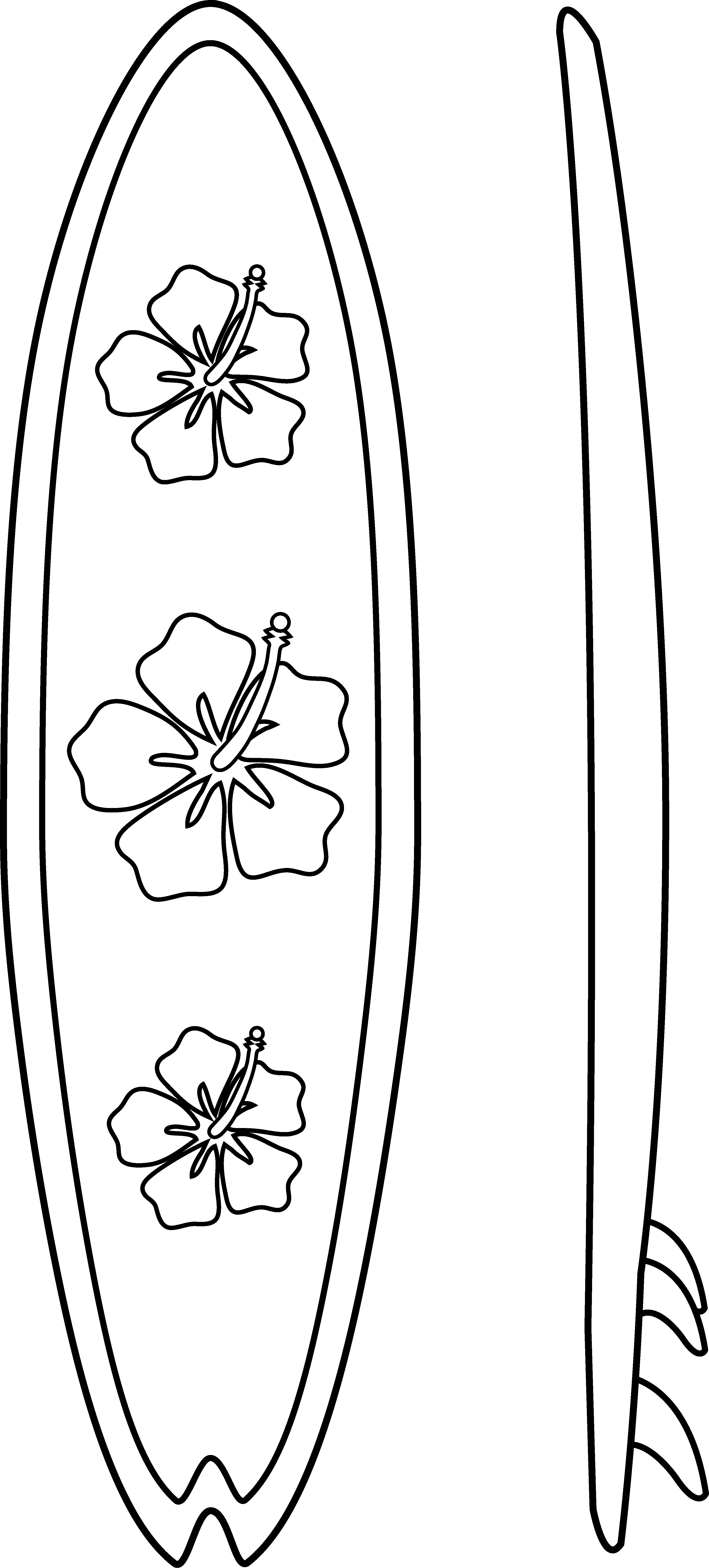 Surfboards Outline