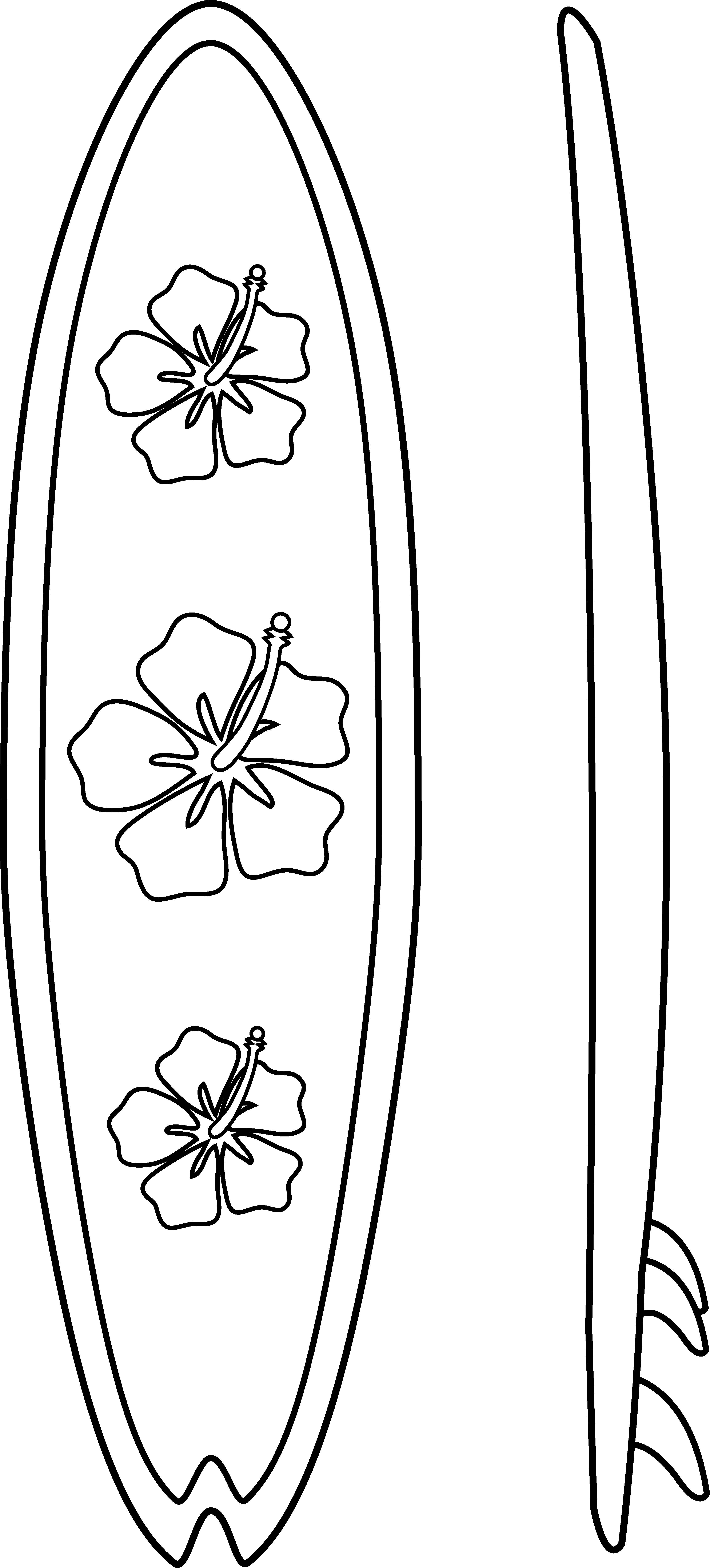 Surfboards Outline