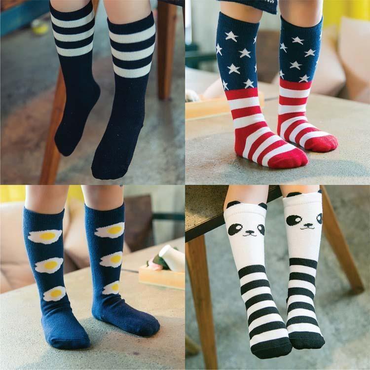 Cute girl knee high socks