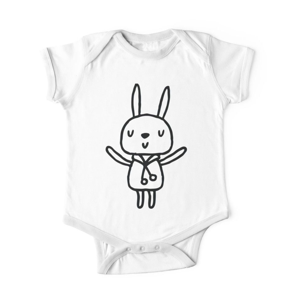 Bunny Rabbit Kids Clothes By Pinelemon Baby Onesie