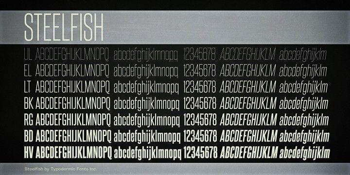 Steelfish Font Poster Fonts Poster Fonts Online Fonts