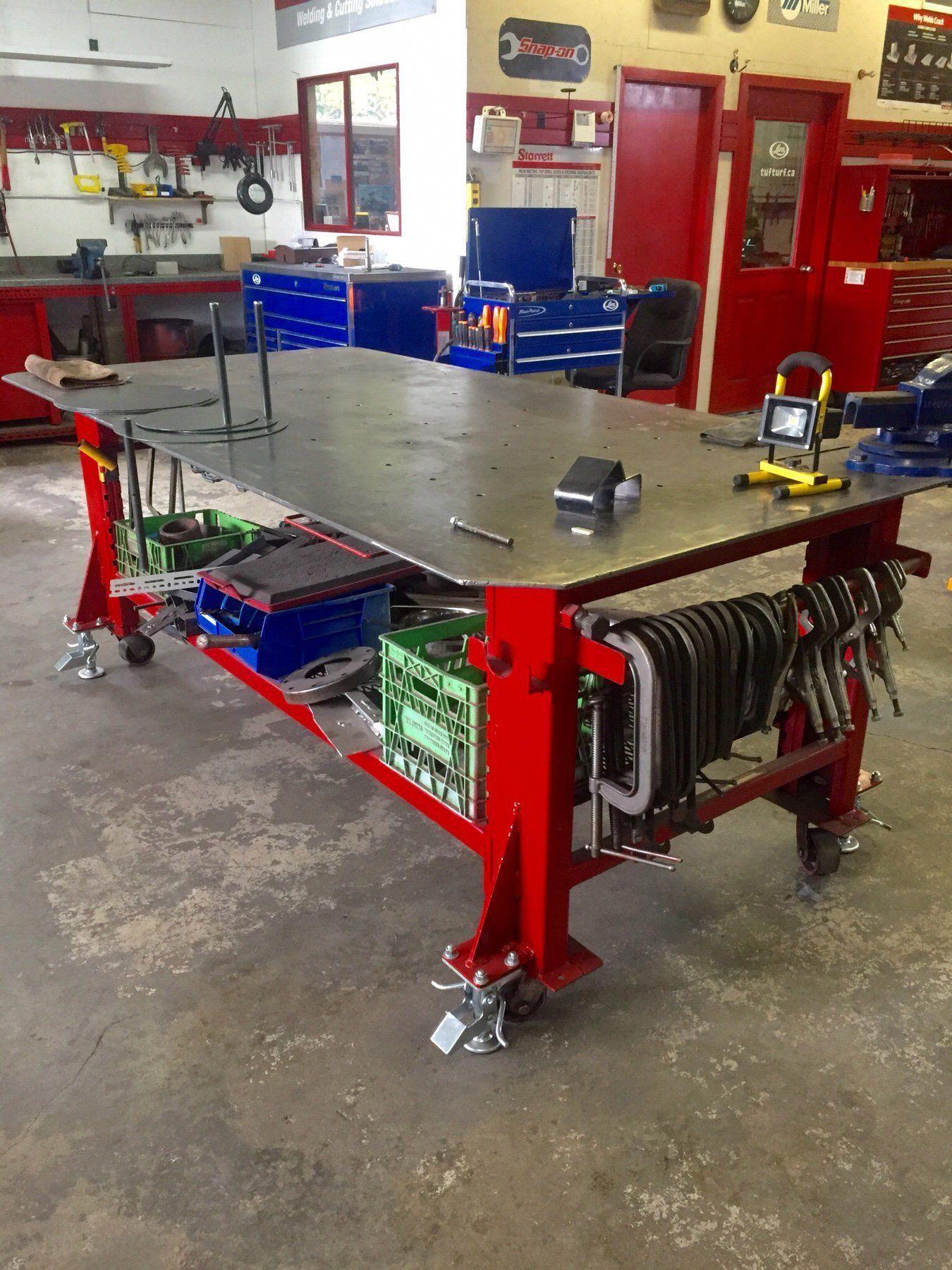 Diy welding table plans weldingtable in 2020 diy