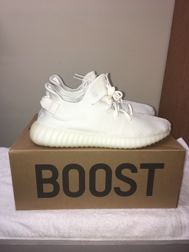 7aa26f51a ADIDAS YEEZY BOOST 350 V2 TRIPLE WHITE BRAND NEW CP9366 SIZE 11.5  fashion   clothing  shoes  accessories  mensshoes  athleticshoes (ebay link)