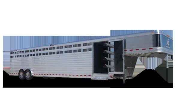 Pin By Stillwater Trailer Sales Llc On Elite Trailers Trailer Manufacturers Aluminum Trailer Livestock Trailers