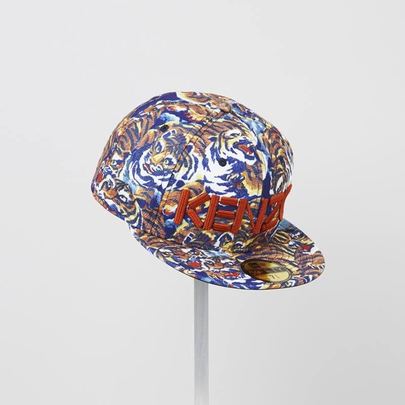The new KENZO   New Era   Flying Tiger New Era fitted hat  763966b3bf1