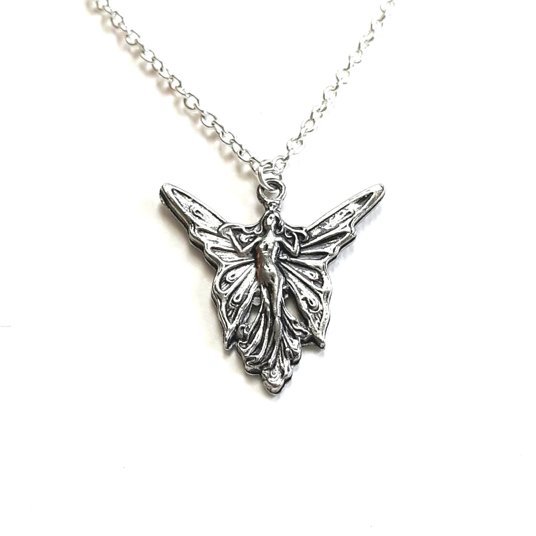 shipping glamour silver carolina product collection necklace today sterling brown jewelry amy fairy peace inch free chain on overstock pendant box watches