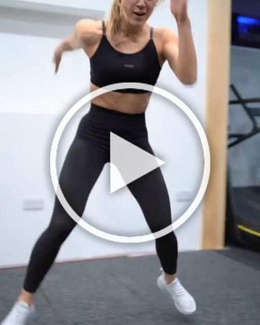 That new High Waisted Flex! Natache styles it in this intense HIIT movement. Boost your energy and p...