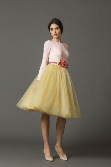 descuento precio justo mejores zapatos Imagen de FALDA CARRIE AMARILLA | faldas tul | Faldas de tul ...