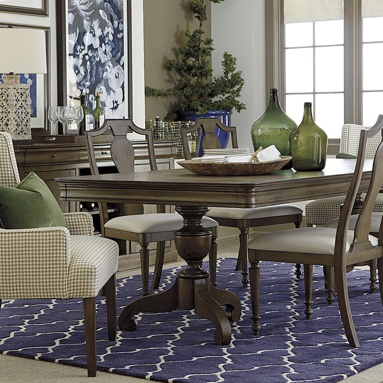 Missing Product Double Pedestal Dining Table Pedestal Dining