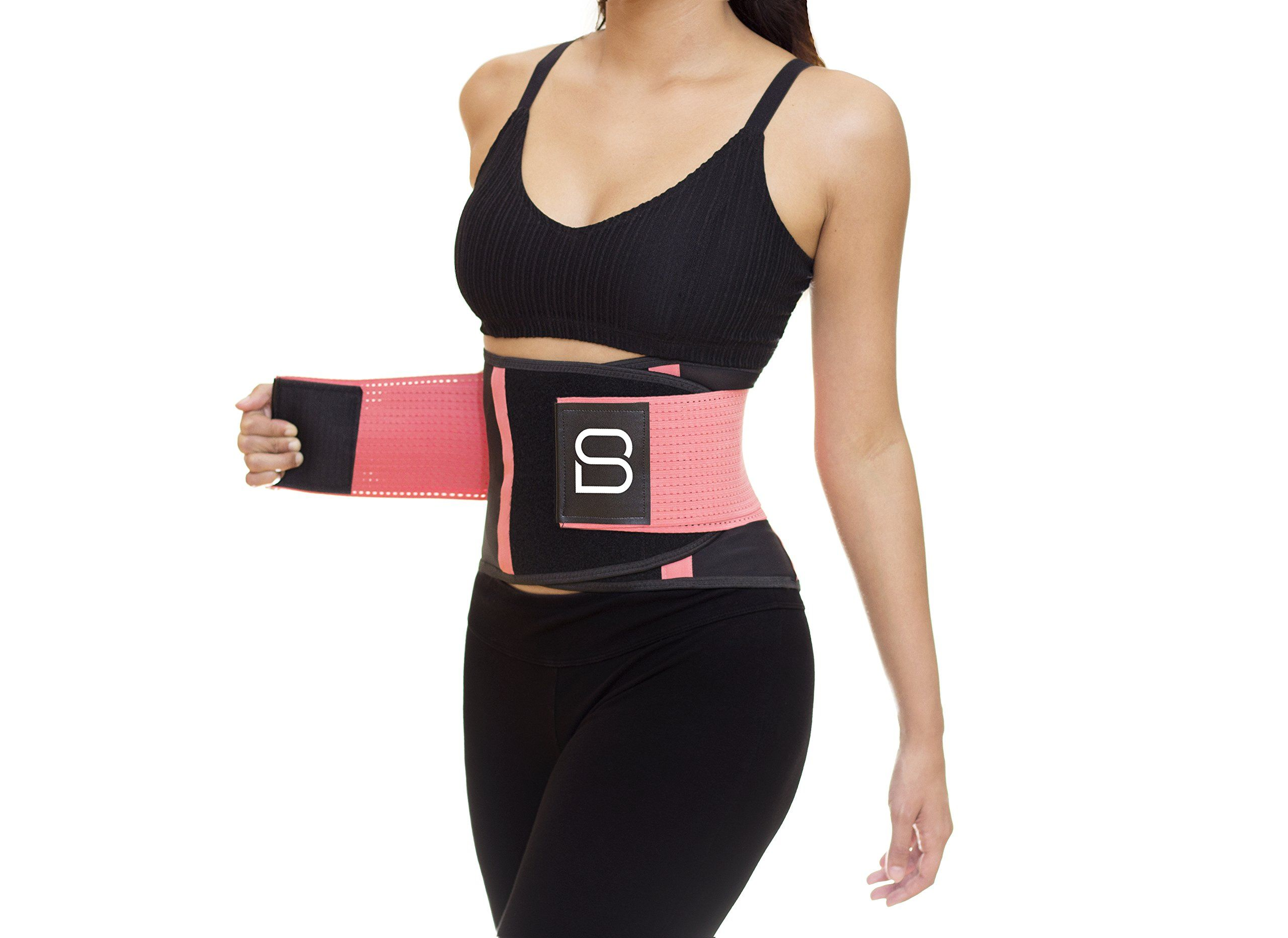 MOOORE Waist Trainer for Women and Man Corset Waist Cincher Trimmer Sweat Slimming Belly Band Tummy Control Shapewear Sports Girdle