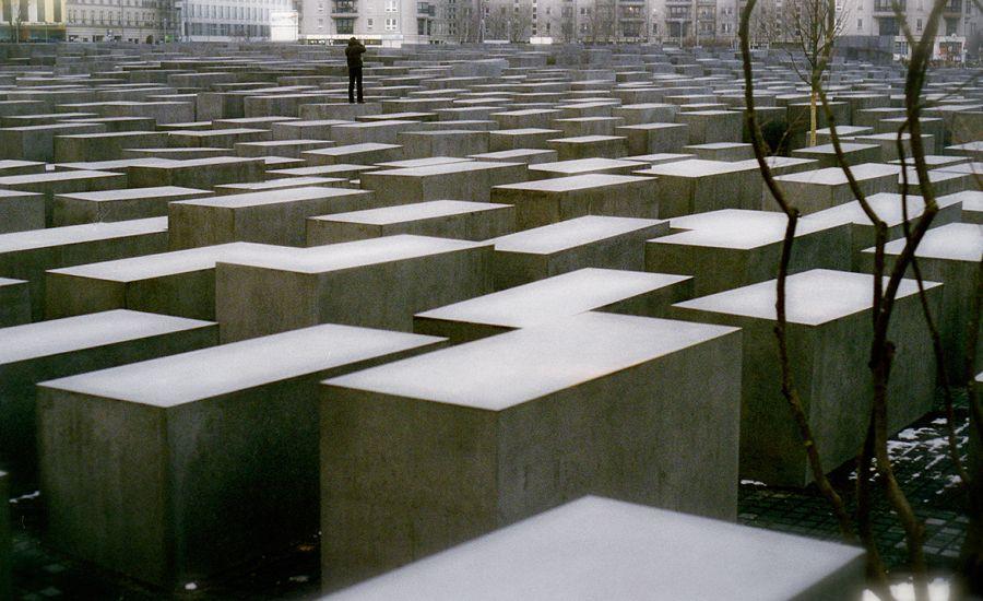 Jewish Memorial by Peter Eisenmann
