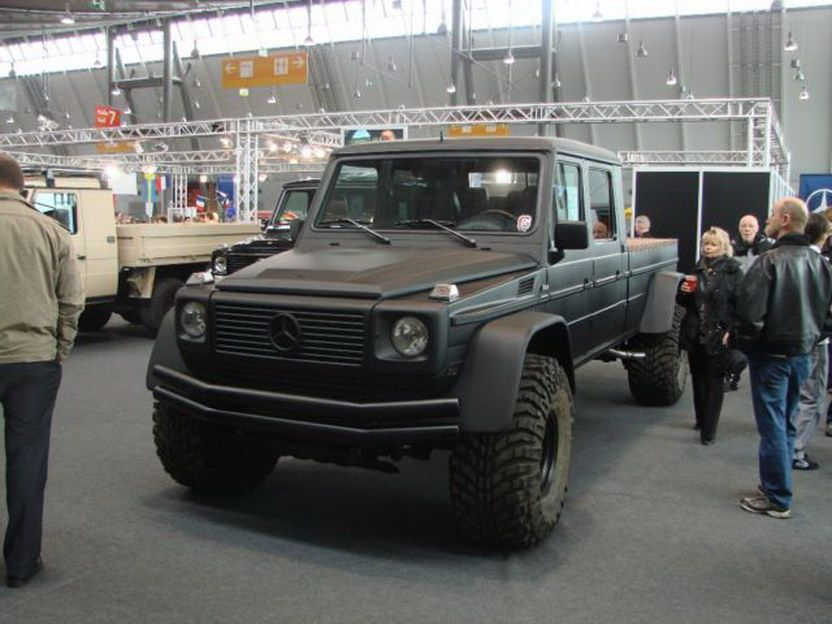 Monster Mercedes Benz G Wagen Pick Truck Conversion With Images