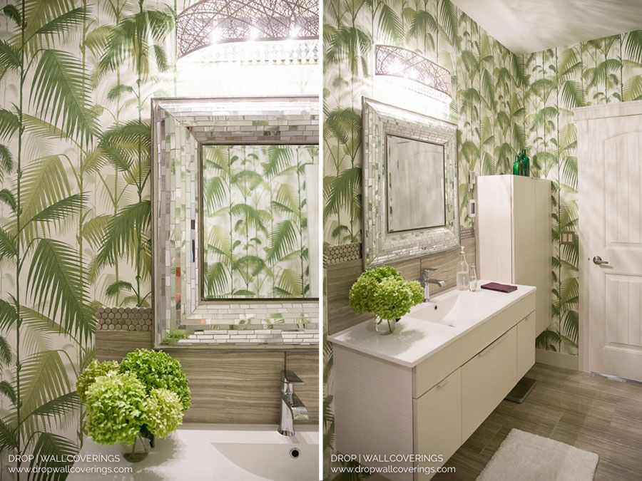 Cole & Son Palm Jungle 95/1001 by Bathroom design luxury