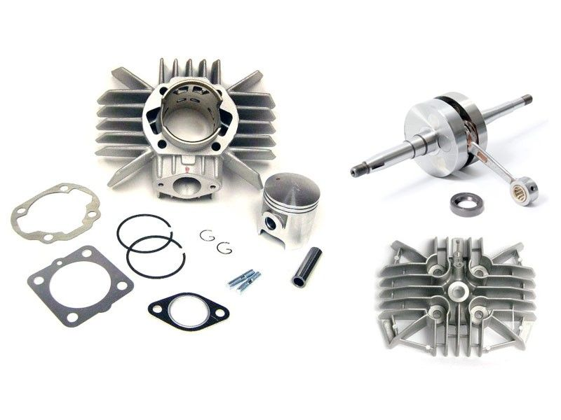 Derbi Metrakit on a Honda Camino Engine Crank Kit Package