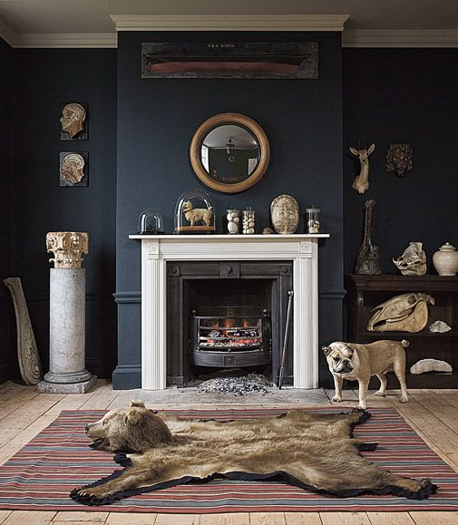 A Little Macabre But I Dig It Country House Decor Home Home Decor Bear decor for living room